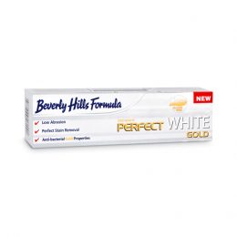 Beverly Hills Formula Dentifrice perfect White gold - 100ml