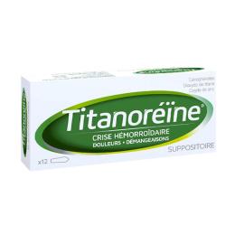 Titanoreïne Suppositoires - 12 suppositoires
