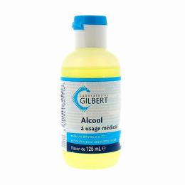 Gilbert alcool à usage médical - 125ml