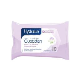 Hydralin Quotidien lingettes - 10 lingettes