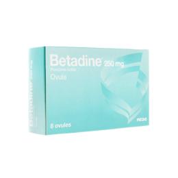 Betadine ovule 250mg - 8 ovules