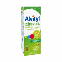 Alvityl Défenses sirop - 240ml