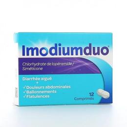 Imodiumduo - 12 comprimés