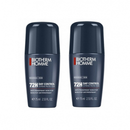 Biotherm Homme Déodorant 72h day control Extreme protection - 2x75ml
