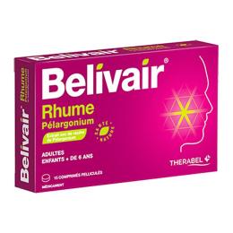 Belivair rhume pélargonium boite de - 15 capsules