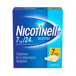 Nicotinell TTS 7mg/24h - 28 patchs