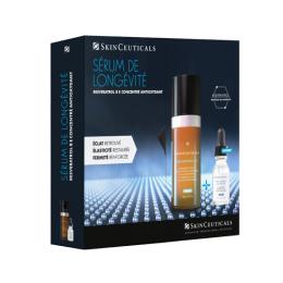 Skinceuticals Duo réparateur de nuit Resveratrol B E 30 ml + Glycolic 10 renew overnight offert