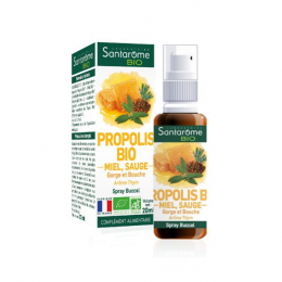 Santarôme Spray buccal propolis BIO - 20ml