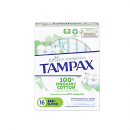 Tampax Cotton Protection  Super -16 tampons