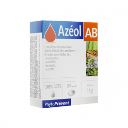 Pileje Azéol Ab Phytoprevent - x30 capsules