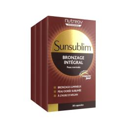 Nutreov sunsublim bronzage intégral - 2x30 capsules + 30 capsules offertes