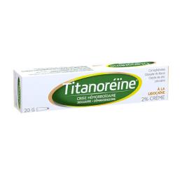 Titanoréïne à la lidocaïne - 20g