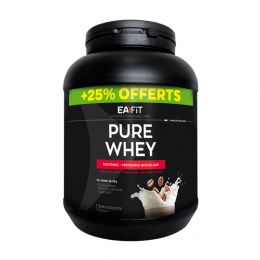 Eafit Pure Whey Cappuccino 750g + 25% OFFERTS
