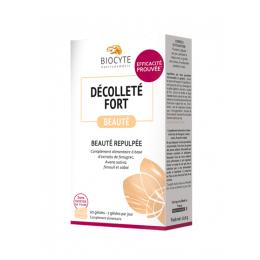 Biocyte décolleté fort beauté repulpée - 60 gélules