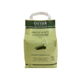 Cattier Argile Verte Concassée en Poudre - 3kg