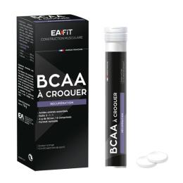 BCAA à croquer récupération saveur orange - 40 comprimés