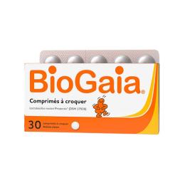 BioGaia Lactobacillus Reuteri ProTectis citron - 30 comprimés à croquer
