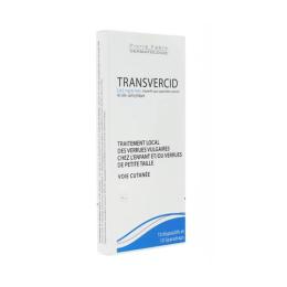 Transvercid Acide salicylique 3,62mg/6mm - 10 pansements