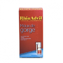 RhinAdvil Maux de gorge  - 12ml