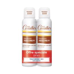 Rogé Cavaillès Déo Absorb+ Spray efficacité 48h - 2x150ml