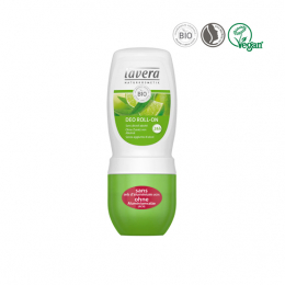Lavera Déo roll-on Limette & Verveine BIO - 50ml