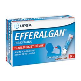 Efferalgan 1g Cappuccino granulés - x8 sachets