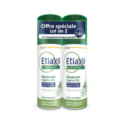 Etiaxil déodorant végétal 24h - 2x100ml