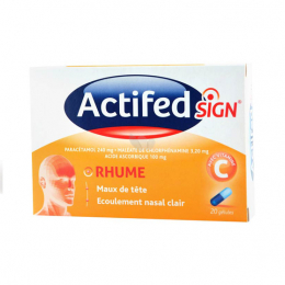 Actifedsign rhume - 20 gélules