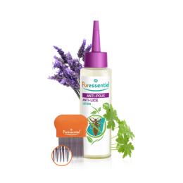 Puressentiel Anti-Poux traitement lotion 100ml + peigne
