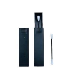Act'éco Coton-tige silicone réutilisable Noir