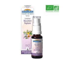 Biofloral Fleurs de Bach Complexe N°21 Réconfort Rupture BIO en spray - 20ml