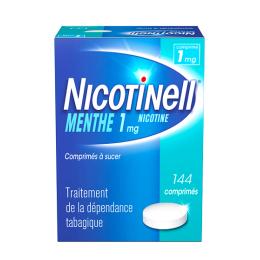 Nicotinell Comprimés Menthe 1mg - 144 comprimés à sucer