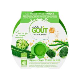 Good Gout Plat BIO Légumes verts perles de blé - 220g