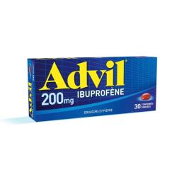 Advil 200mg - 30 comprimés