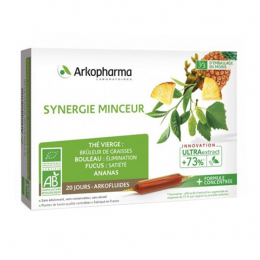 Arkopharma Arkofluides BIO synergie minceur - 20 ampoules