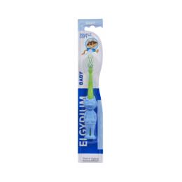 Elgydium Brosse à dents bébé - 0-2 ans - Souple