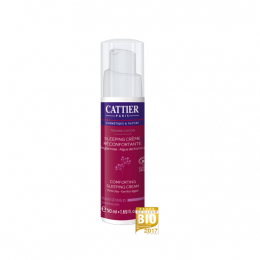 Cattier sleeping crème réconfortante bio - 50ml