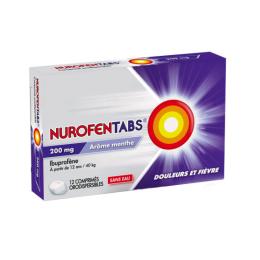Nurofentabs 200mg - 12 Comprimés Orodispersibles