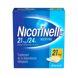 Nicotinell TTS 21mg/24h - 28 patchs