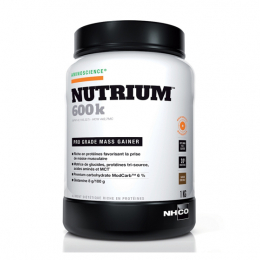 Nutrium 600k saveur chocolat - 1kg