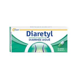 Diaretyl 2mg - 12 gélules