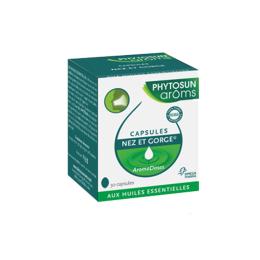 Phytosun aroms Capsules nez et gorge - 30 capsules