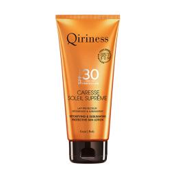 Qiriness Soleil suprême Caresse soleil suprême corps SPF30 Lait protecteur detoxifiant & sublimateur - 200ml