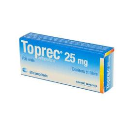 Toprec 25MG - 20 comprimés