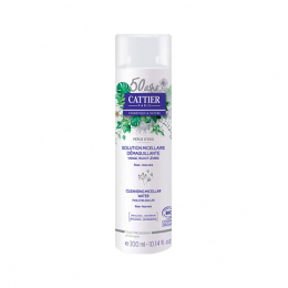 Cattier solution micellaire démaquillante bio - 300ml