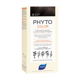 Phyto color  Kit de coloration permanente - 5 Châtain clair