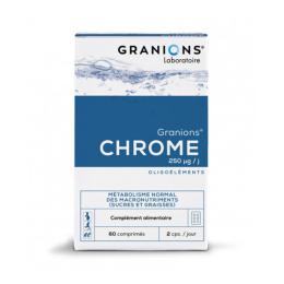 Granions de Chrome 250µg - 60 comprimés