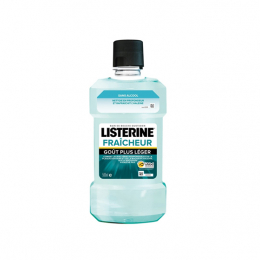 Listerine Zero Fraîcheur goût plus léger - 250ml