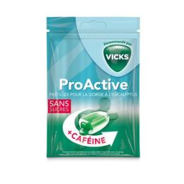 Vicks Bonbons ProActive avec caféine - 72g