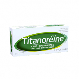 Titanoreine suppositoires - x12